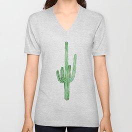Saguaro cactus Unisex V-Neck