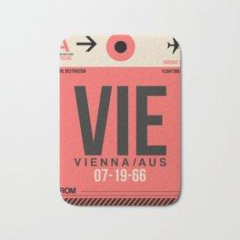 VIE Vienna Luggage Tag 1 Bath Mat