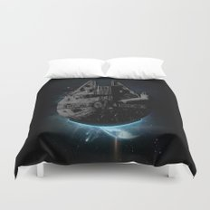 Stealth Falcon Duvet Cover
