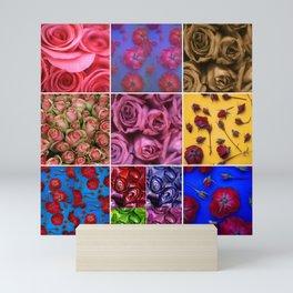 DELIGHTFUL ROSES Mini Art Print
