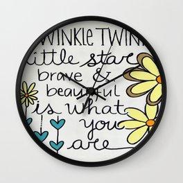 Twinkle Twinkle Wall Clock