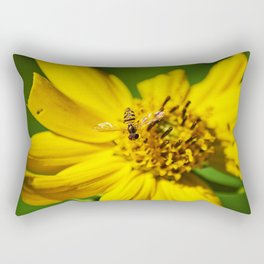 Hovering in the Sun Rectangular Pillow