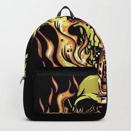Skull Flames Best Gift Backpack