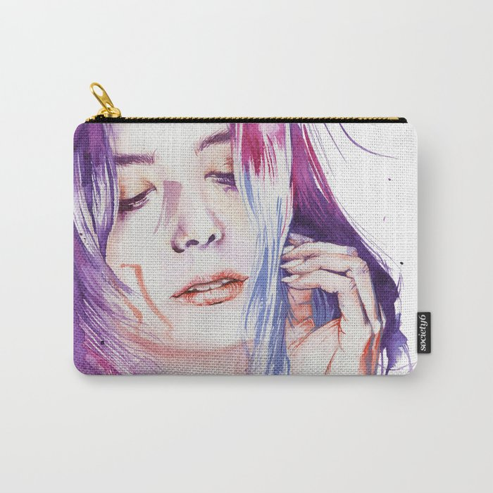 Dreamlike silence Carry-All Pouch