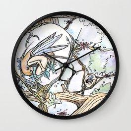 Birth of a Fairy Wall Clock