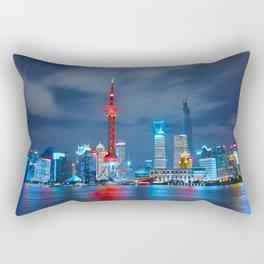 Shangai, China Rectangular Pillow