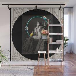 The Hoop Fairy & The Clown Canary Wall Mural