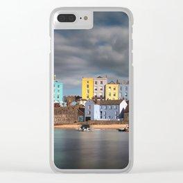 Tenby harbour Pembrokeshire Clear iPhone Case