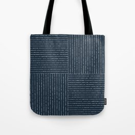 Lines III (Annapolis Blue) Tote Bag
