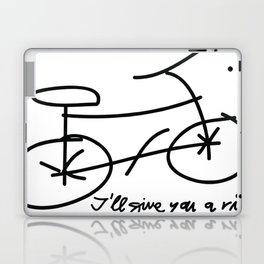 Bike drawing Laptop & iPad Skin