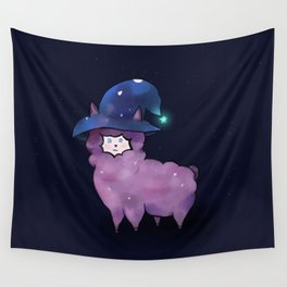 Witch Alpaca Wall Tapestry