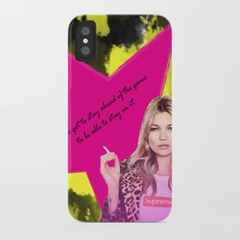 Fashion abstract poster iPhone Case