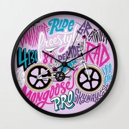 Mongoose Decade Wall Clock
