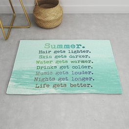 SUMMER by Monika Strigel Rug