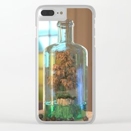 Serenity In A Bottle Clear iPhone Case