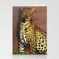 panther Stationery Cards featuring Panther by Savousepate