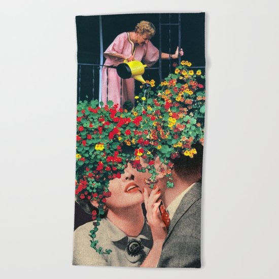 Growing Love Beach Towel