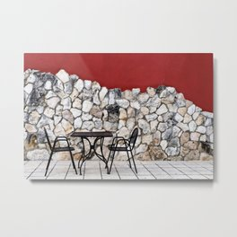 Passion For Dining Metal Print