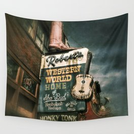 Honky Tonk Grill Wall Tapestry