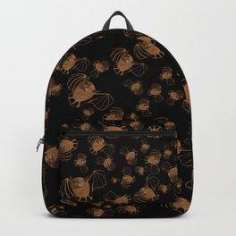 Adorable bats for Halloween (Black) Backpack