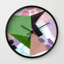 Because Lollipops Wall Clock