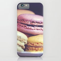 macarons on the windowsill iPhone 6s Slim Case