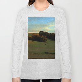 Last Moments of Sunset Glow, Sonoma County Hills Long Sleeve T-shirt