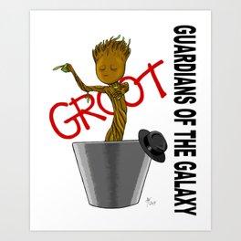 Bad Groot Art Print