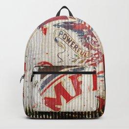 American Gasoline - Vintage Label Backpack