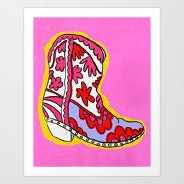 Walk All Over You Art Print