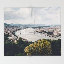 Budapest Pano Throw Blanket