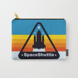 NASA Space Shuttle Badge Carry-All Pouch