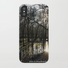 shadows & reflections iPhone X Slim Case
