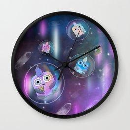 Wondrous & Whimzical Places: Space Bubbles Wall Clock