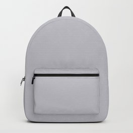 Quiet Soft Grey 2018 Fall Winter Color Trends Backpack
