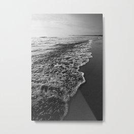 Ocean Beach Sunset Metal Print
