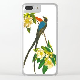 Fork-tailed flycatcher Bird Clear iPhone Case