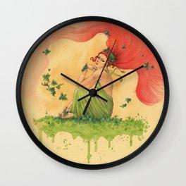 Poisson Ivy Wall Clock