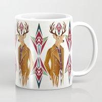 selena gomez Mugs featuring dear deer by Manoou
