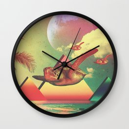 From the Sea to the Sky  Wall Clock