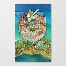 World In Harmony Canvas Print