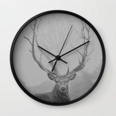 The Deer Wall Clock