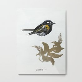 Stitchbird Metal Print