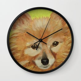 Pita Pocket 1 Wall Clock