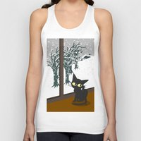 snow Tank Tops featuring Snow by BATKEI
