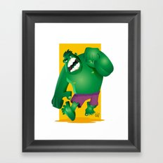 Inclredible Vector! Framed Art Print