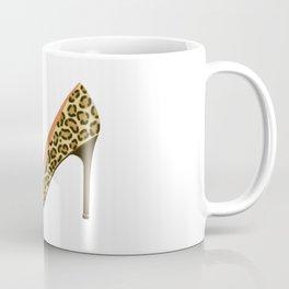 Leopard Print High Heel Shoe Coffee Mug