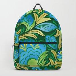 Art Flowers V8 Backpack