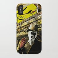 watchmen iPhone & iPod Cases featuring Who Watches The Watchmen? by SB Art Productions