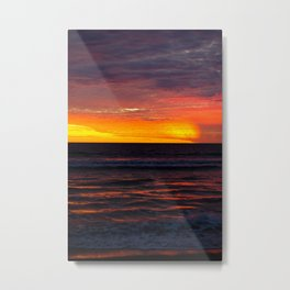 Sinaloa Sunset Metal Print